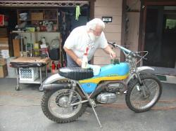 1972 Bultaco.