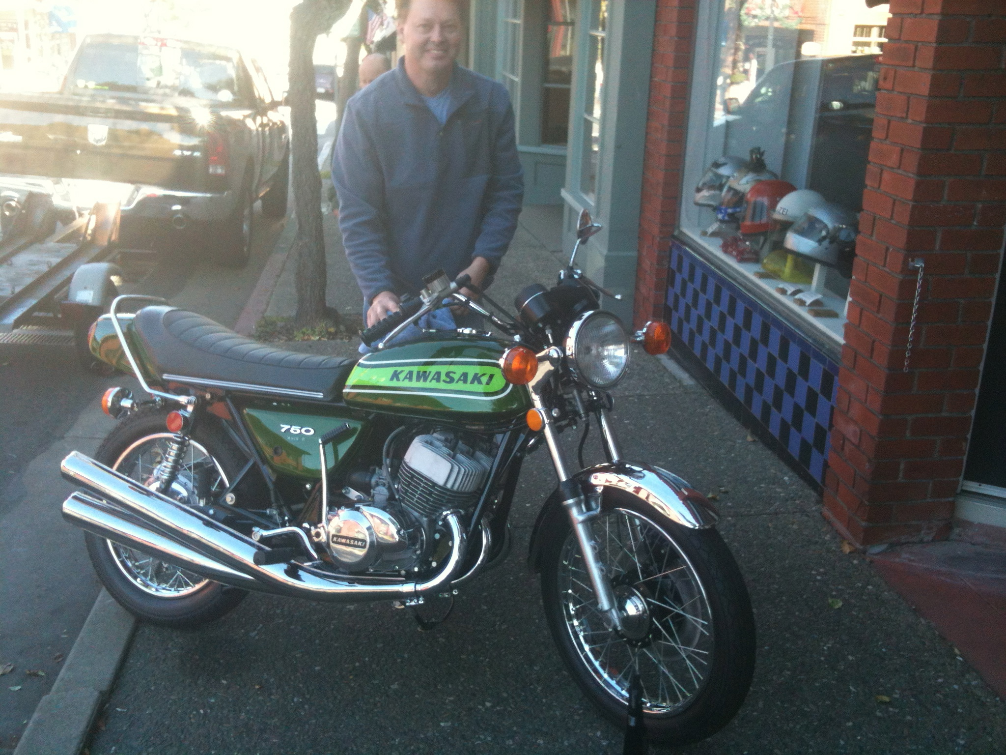 Danny Gottfried and the perfect Kawasaki