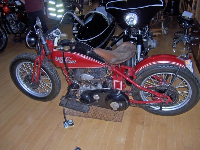 1930 Harley side view