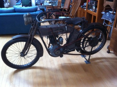 1913 harley-Davidson belt drive